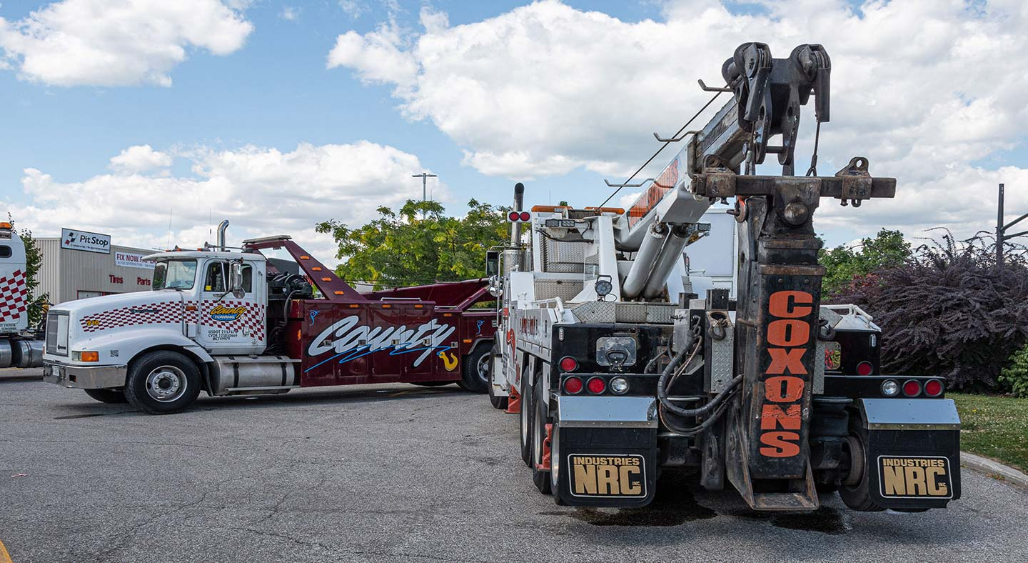 County and Coxon's Towing